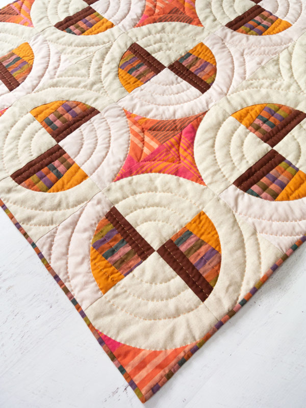 Modern Fans Sew-along with Suzy Quilts Earthy Baby Quilt