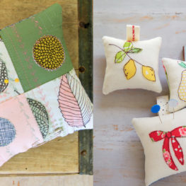 Pincushion party from WeAllSew