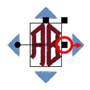 BERNINA Toolbox 2 Letter Monogram - Letters Resizing