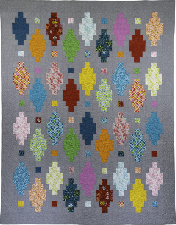 Beaded Lanterns Quilt by Christa Watson