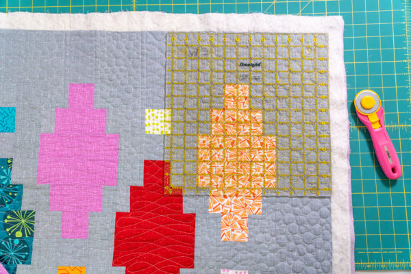 Trimming the Quilt Corners