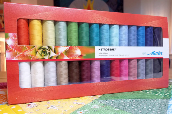Metrosene Thread Kit Giveaway at WeAllSew
