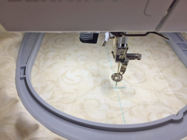 Design Positioning in Machine Embroidery - Dot 2 Hoop