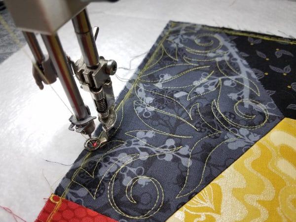Q-matic Markers Feature Stitch Design