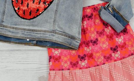 Ruffled Hem Skirt tutorial