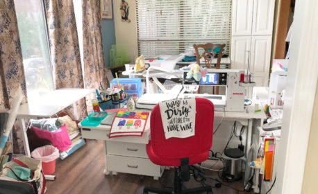 Sandy's little slice of heavenly peace National Sewing Month 2018 Winner