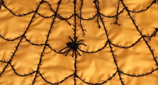 Spider Web door banner tutorial
