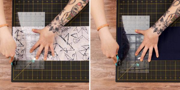 Waterproof Travel Kit Bag - cut fabric