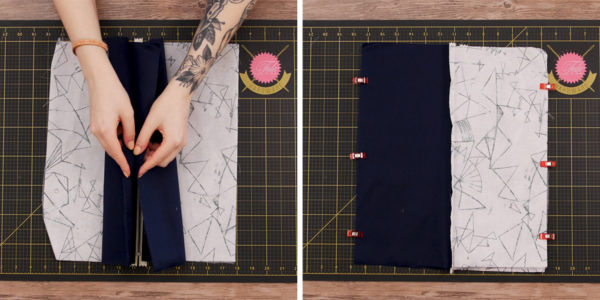 Waterproof Travel Kit Bag - pin ends