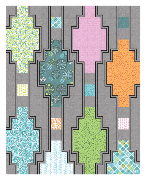Quilting Plan - Outline the ditch
