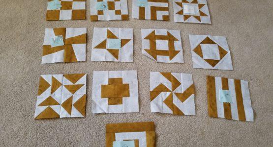 Blocks finished