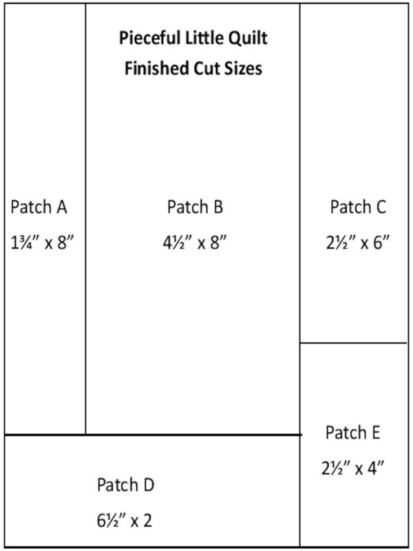 Little Art Quilt diagram