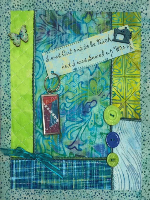 Little Art Quilt - Pieceful Quilt