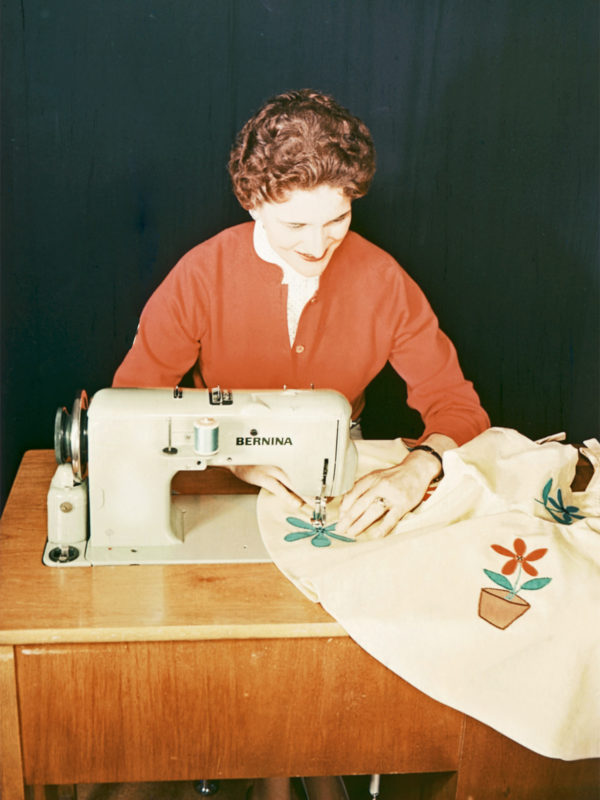 Stand alone embroidery machine history at WeAllSew
