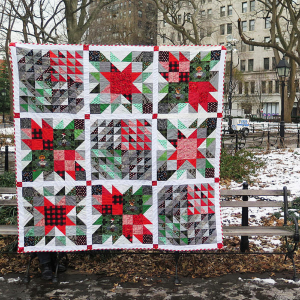 Christmas Quilt Pattern from WeAllSew