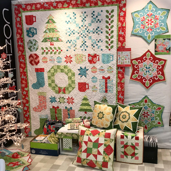 Christmas Magic.Fabric Line by Benartex designed by Amanda Murphy