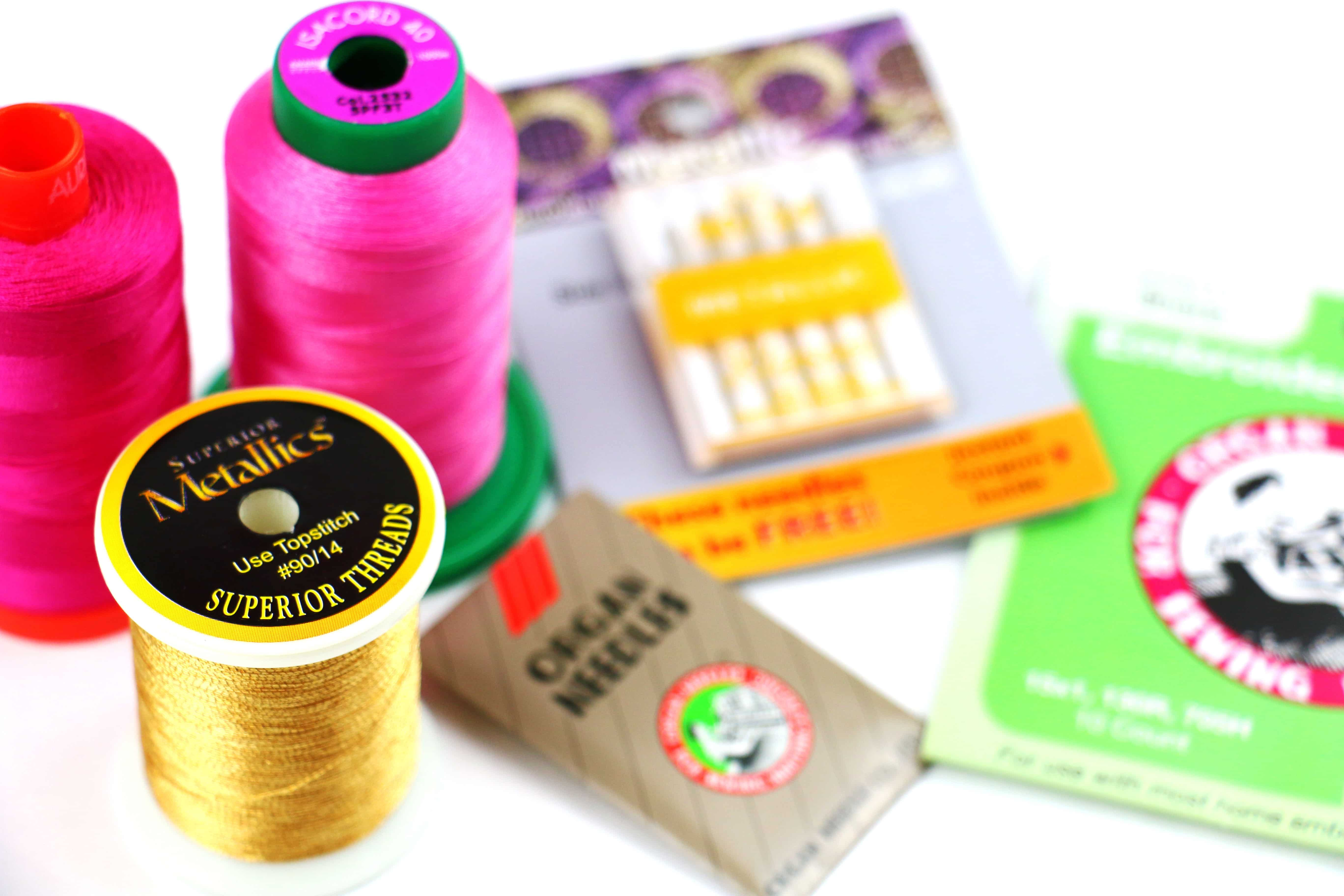 Embroider-Along Part 3: Needles and Threads | WeAllSew