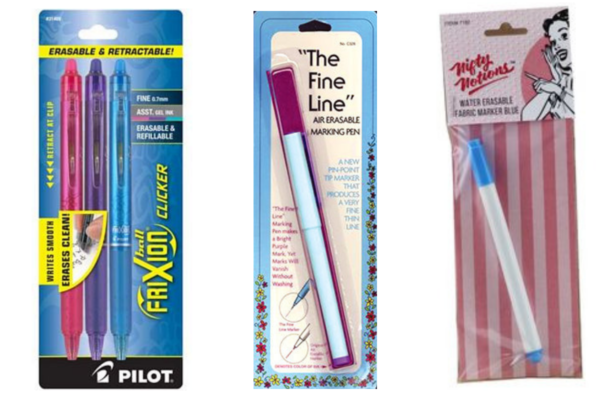 Embroider-Along Part 4 marking pens 1200x800 We All Sew blog