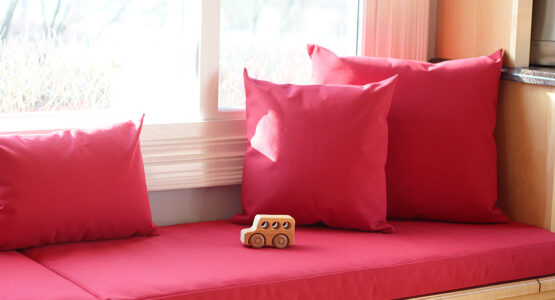 Upholstered Cushion Cover at WeAllSew