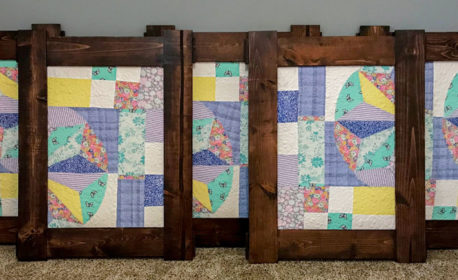 In Remembrance Farm House Quilt Block