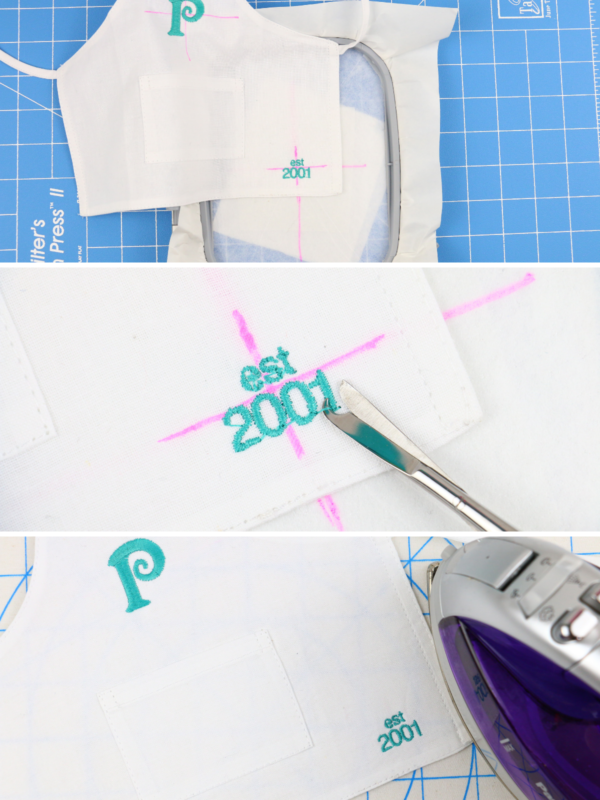 we all sew part 6 embroider on woven - stabilizer and how to hoop 1200x800