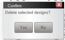 Managing Designs in Q-matic