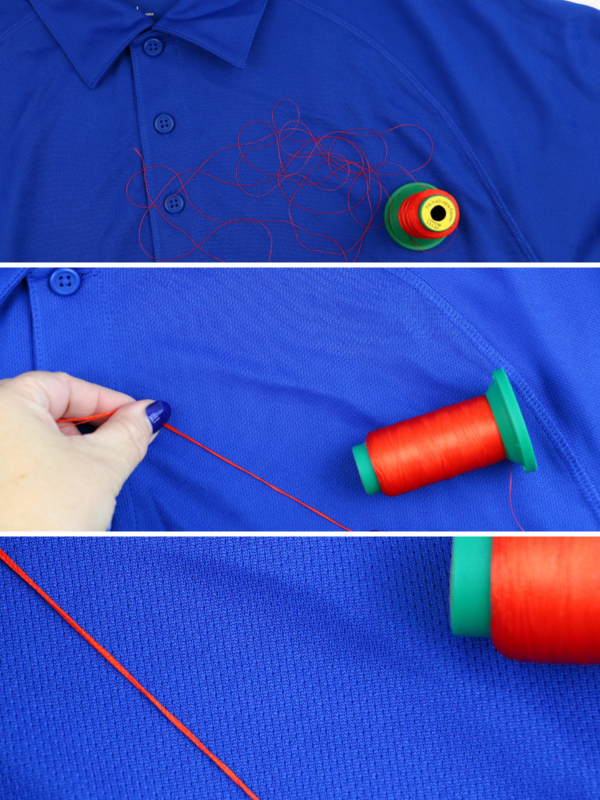 we all sew part 5 embroider on knits stabilizers and needles embroidery thread hack