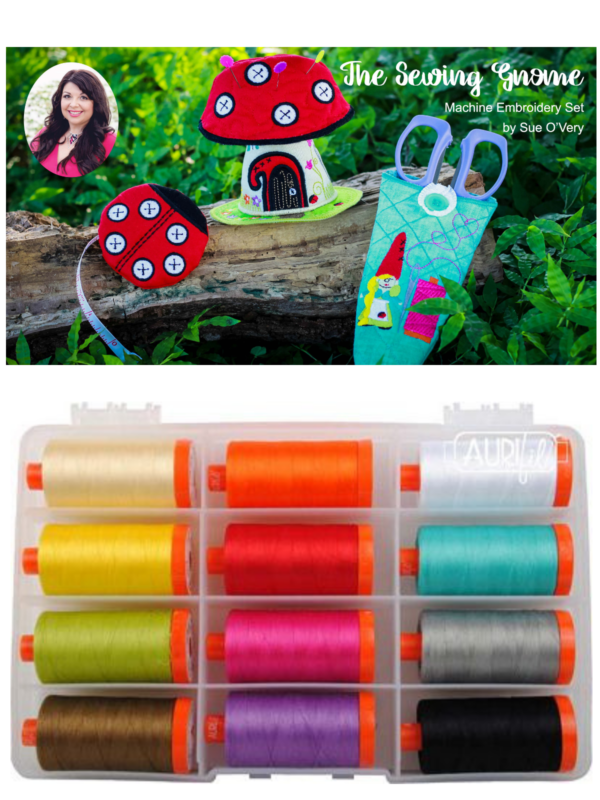 we all sew part embroider on sheer materials embroidery on handkerchief wash away stabilizer aurifil 50 weight thread