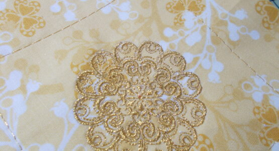 Part 1: Embroidery for Bernina 125th Anniversary Quilt A Long