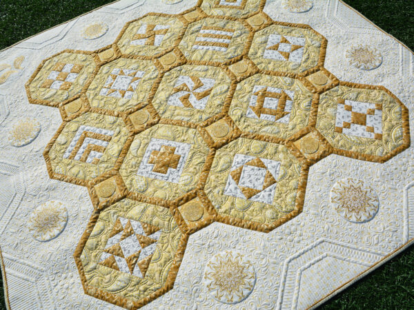BERNINA 125 Anniversary Quilt-along - Finished Quilt