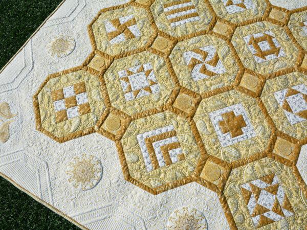 BERNINA 125 Anniversary Quilt-along - Finishing the Quilt