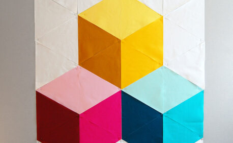 Colossal Blocks Quilt-Along at WeAllew