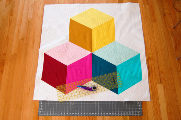 Colossal Blocks Quilt-Along at WeAllSew