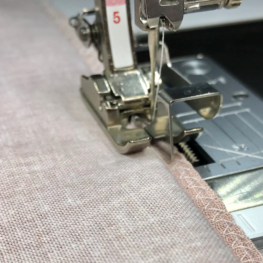 blind hemming with Foot #5