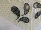 corner embroidery close up