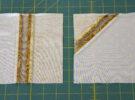 seam ironed edges