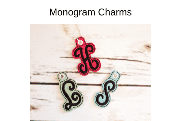we all sew how to embroider on cuddle luxe in the hoop strawberry pin cushion monogram charms by sue overy designs