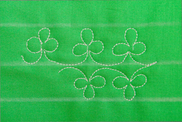 create the double Clover border