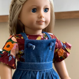 18 Inch Doll Pattern and Tutorial from WeAllSew