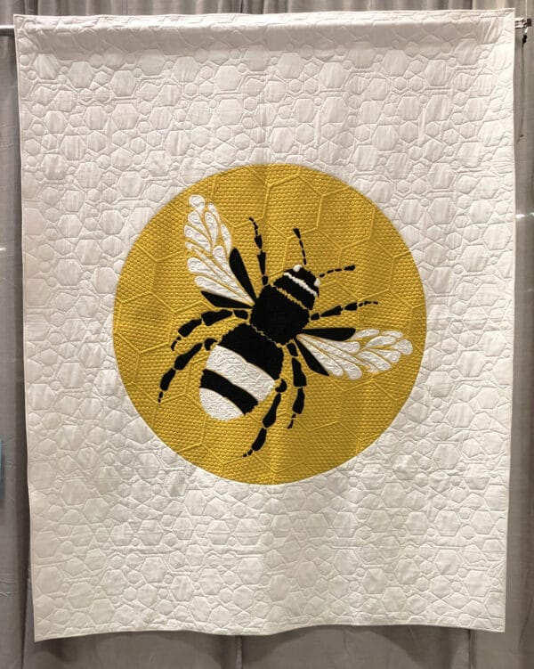 A Bee From Manchester QuiltCon 2019 at WeAllSew