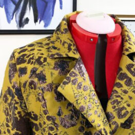 Blazer made on a bernette sewing machine