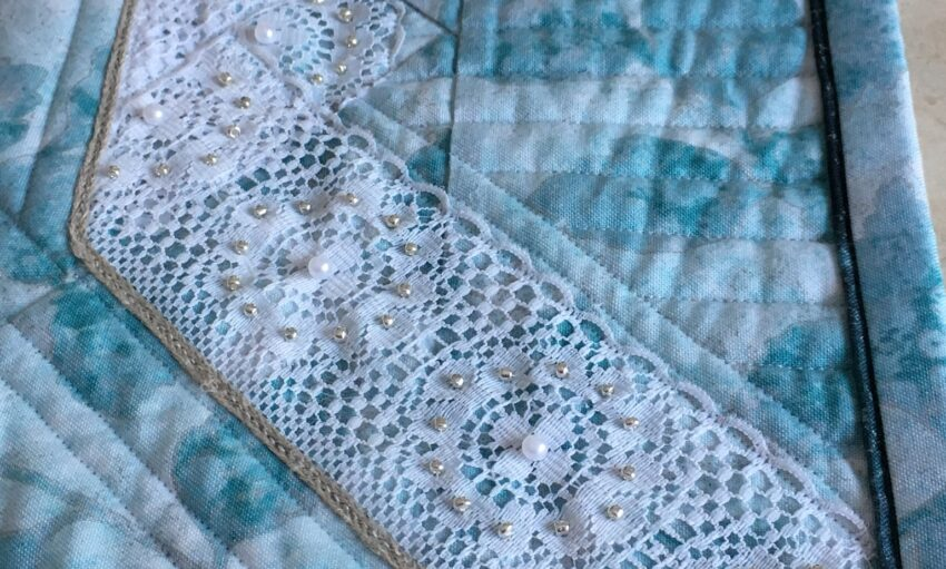 BERNINA 125th Anniversary Quilt-along: Second Prize Winner: detail