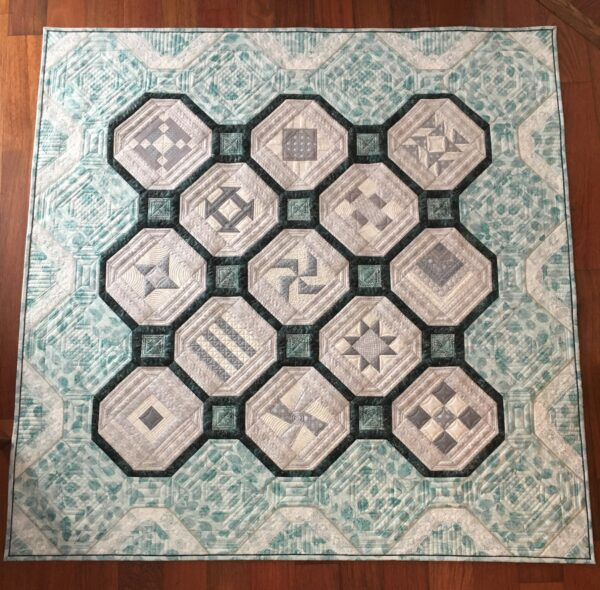BERNINA 125th Anniversary Quilt-along: Second Prize Winner
