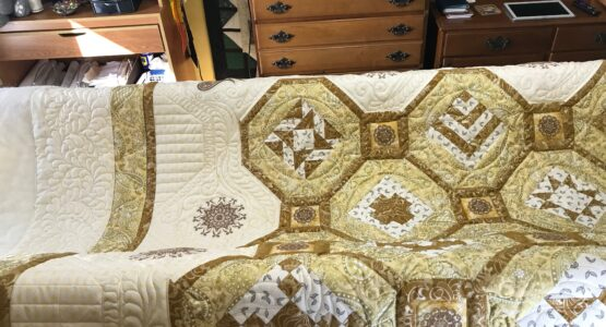 125th Anniversary Quilt progress