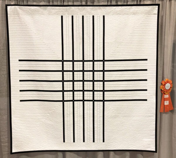 Two Color Quilt Challenge QuiltCon 2019 at WeAllSew
