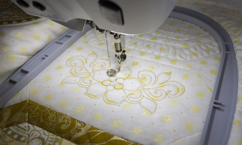 border embroidery