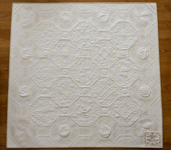 BERNINA 125th Anniversary Quilt-along: Grand Prize Winner, finished quilt back
