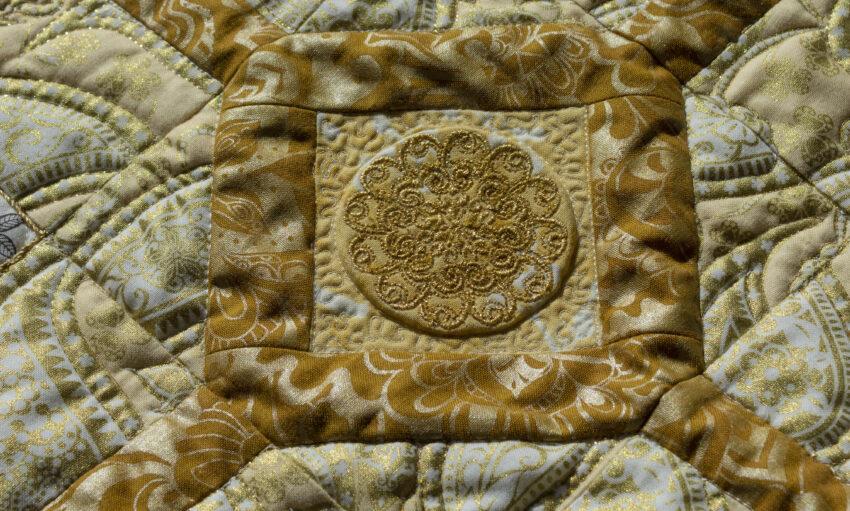 quilt detail cornerstone