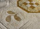 quilt detail paisleys