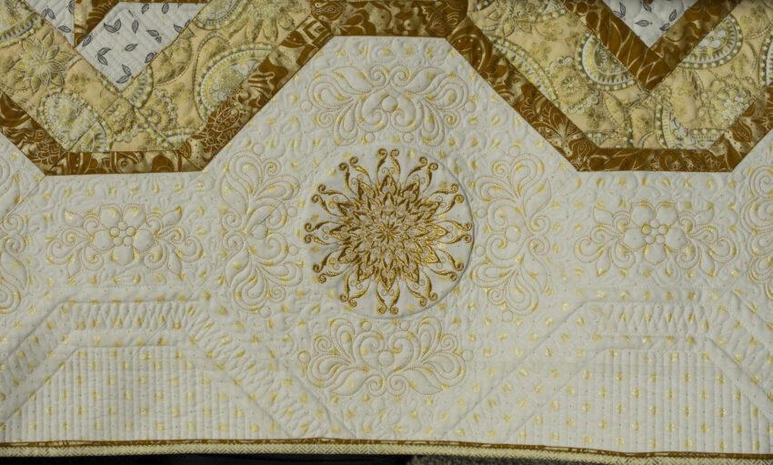 quilt detail side border